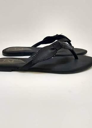 #blackfriday rasteira cetim preta dalí shoes