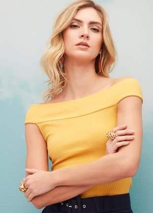 Blusa ombro à ombro
