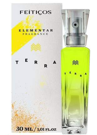 Perfume elementar fragrance terra feitiços - 30 ml