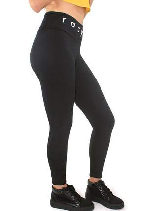 Calça legging fitness cós alto racy ref: lg01