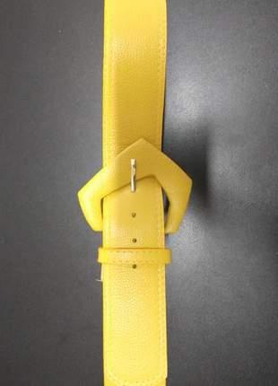 #blackfriday cinto couro amarelo dalí shoes