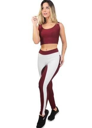 Conjunto calça legging e cropped wildromance