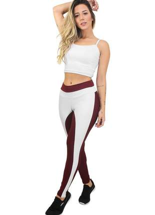 Conjunto calça legging e cropped cleanpower