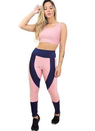 Conjunto calça legging e cropped candypower
