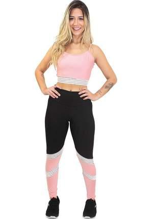 Conjunto calça legging e cropped moveon