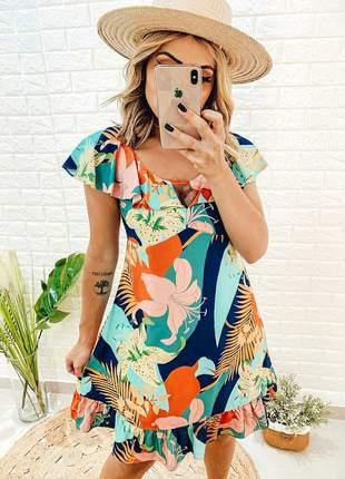 Vestido curto verão