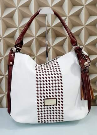 Bolsa importada branca