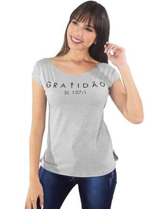 Blusa feminina evangelica estampada 3d gratidão moda 2019
