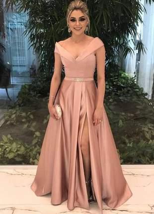 Vestido longo madrinha de casamento