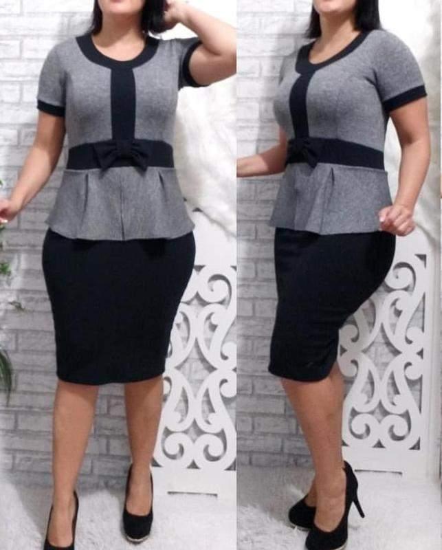 Equipe Rcshop18 / Vestido social moda evangélica ref 673