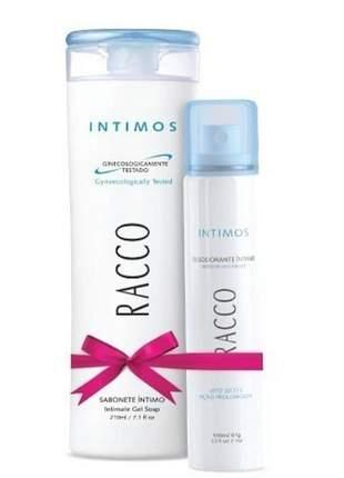 Kit íntimo(sabonete+desodorante) racco cosméticos