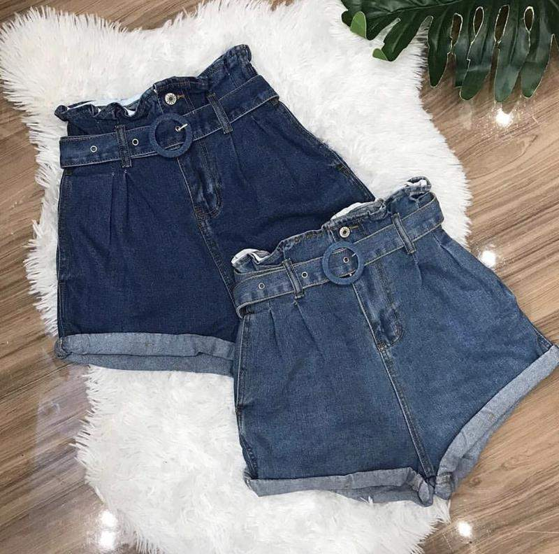 Racca Store / Short jeans cinto
