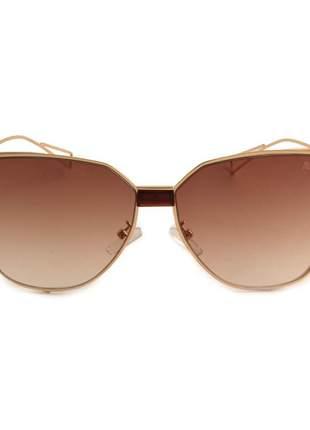 89f71898e ... aviator metal geek novo modelo 2019 Brasília R$ 160,00. Oculos de sol  feminino marrom com dourado