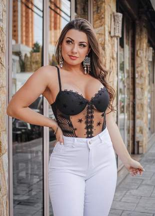 Calça jeans feminina cintura alta hot pants premium 3% lycra
