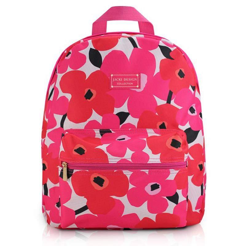 b85d99591 Mochila feminina escolar com estampa floral rosa pink - R$ 69.90 (em ...