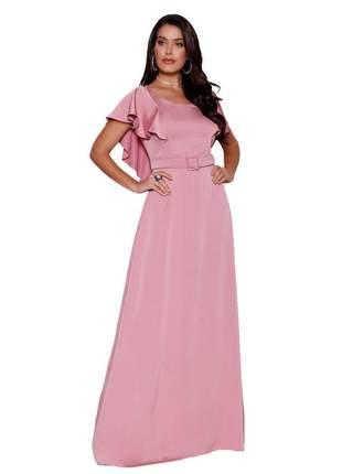 Vestido dress longo fasciniu's roupas evangelicas 2019