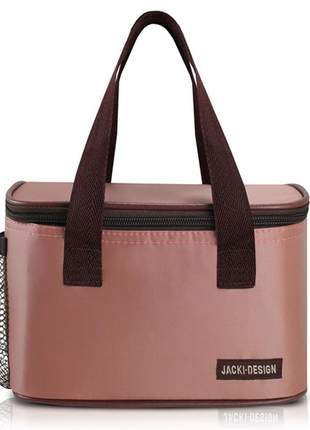 Bolsa térmica fitness rosa