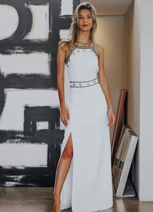 Vestido longo camila