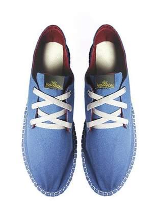 Tênis casual monarca urban azul royal