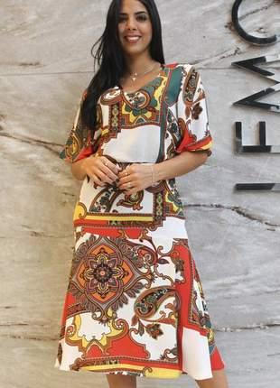 18011 vestido de crepe