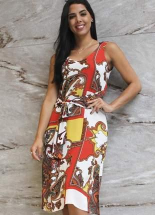 18008 vestido de crepe