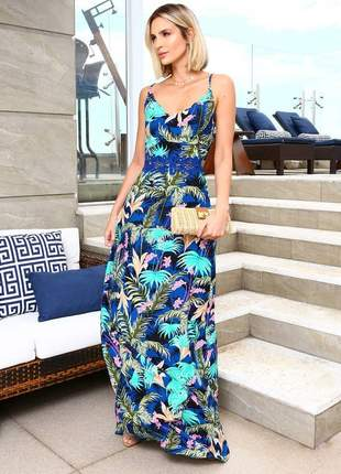Vestido jardim