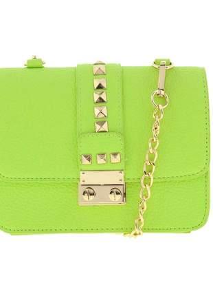 Bolsa feminina verde neon bcbg ny