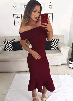 Vestido tomara que caia moda festa
