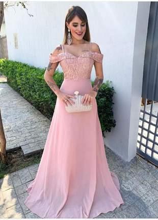 Vestido luxuoso de festa