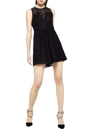 Vestido preto importado seda bcbg ny marca do gossip girl
