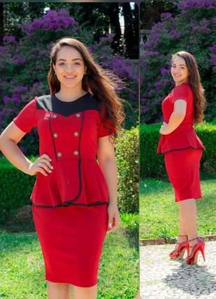 Vestido evangélico social ref 712