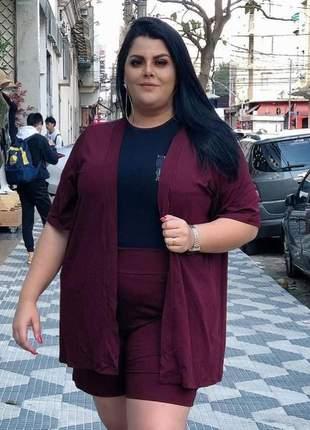 💕conjunto kimono plus size