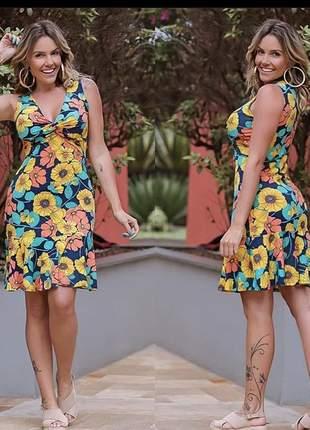 Vestido floral nozinho