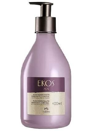 Hidratante corporal polpa açaí ekos - 400ml