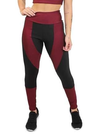 Calça legging academia moda fitness cintura alta