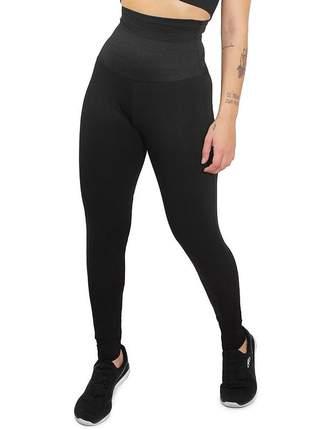 Calça legging fitness modeladora cintura alta academia roupas malhar