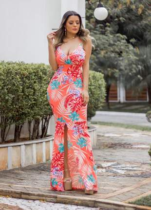 Vestido longo aranha✨