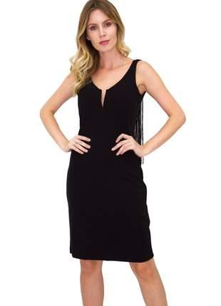 Fcl17579 vestido de franja