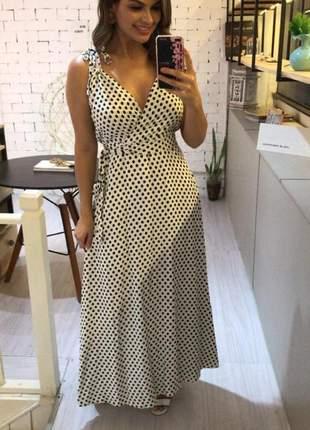 Vestido de poá