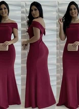 Vestido de festa marsala rosê bojo madrinha formanda coral azul serenity  branco reveillon