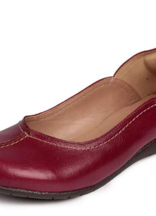 Sapatilha couro dali shoes retrô