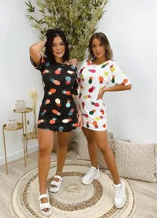 Mini vest a cara do verão ( abacaxi)