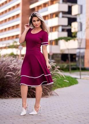 Vestido feminino moda evangélica preço baixo lançameto 2019