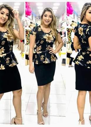 Vestido midi moda evangélica lnaçameto 2019 promoção