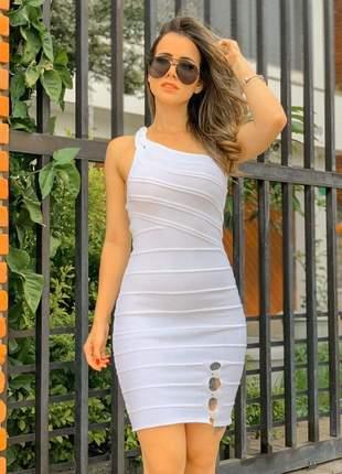Vestido curto no modal