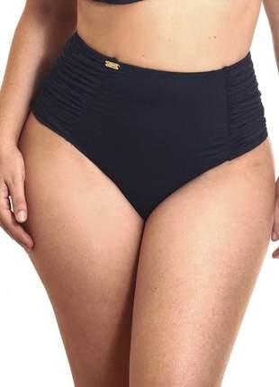 80006 - calcinha de biquíni estigma moda retrô pin up cintura alta