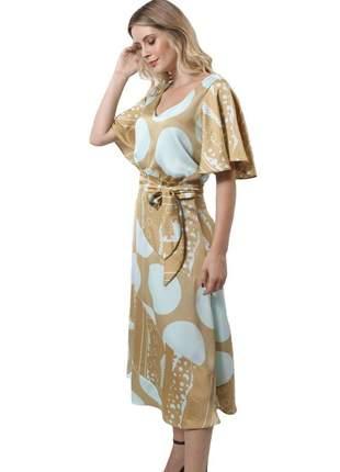 18029 vestido estampado midi
