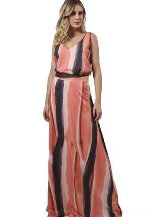 18032 vestido estampado longo