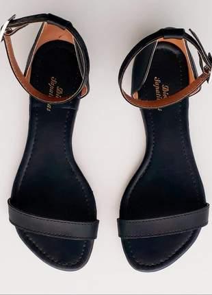 Kit 2 pares sandália rasteira flat feminina promoção
