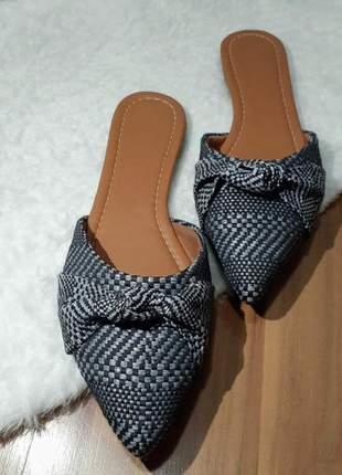 Mule de tecido última têndencia